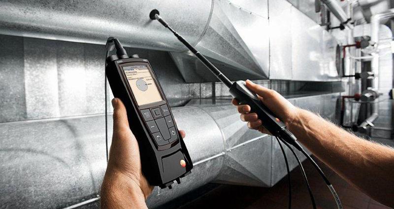 Аэродинамические испытания вентиляционных систем